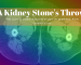 Kidney Stones Throw a link to Covid Long haul and kidney pain